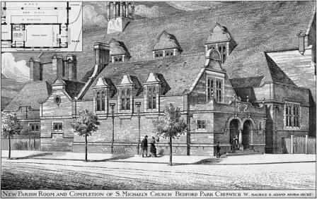 St Michael's Parish Room - 1884