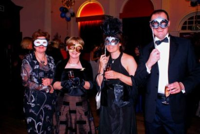 Mother Katherine and other ball-goers