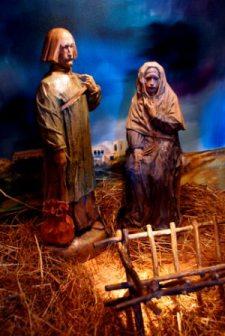 Crib figures: Joseph and Mary